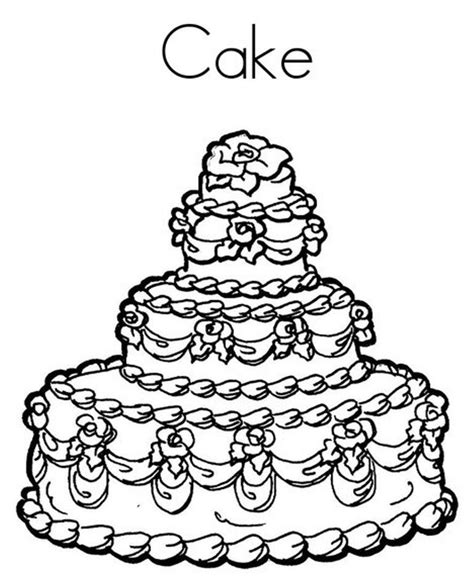 coloring page birthday cake happy birthday cake coloring pages az coloring pages