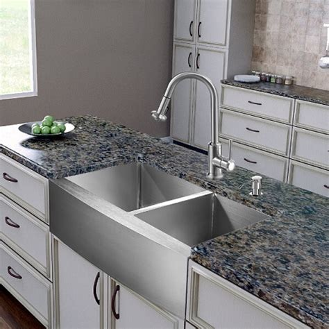 kitchen faucets for farmhouse sinks homethangs has introduced a guide to six unique twists on the classic apron sink