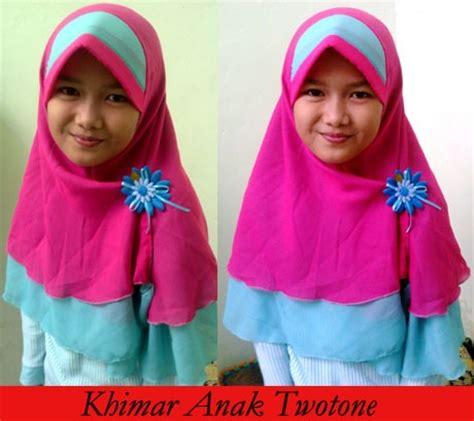 Jilbab Anak Kiwil Khimar Anak Anak Kerudung Anak 3 7 Th mengenal beberapa bahan kain untuk produksi jilbab atau