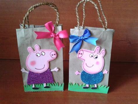 como hacer brazos y manos de peppa pig en porcelana dulceros para cumplea 241 os de peppa pig cajas y bolsas