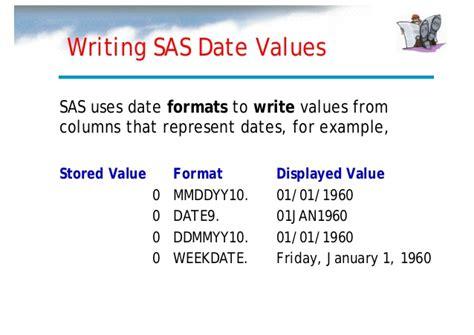 format date in sas sas internal training