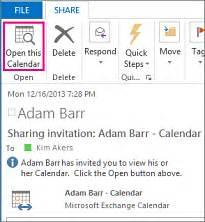 Calendar Outside Organization An Outlook Calendar With Other Outlook