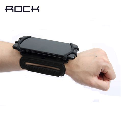 Wrist Wallets Sarung Hp rock universal wrist band for iphone 7 6s plus running sport cover holder for samsung s7