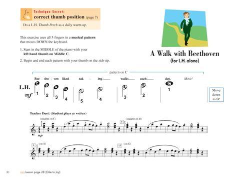 picture book techniques piano adventures 174 primer level technique performance