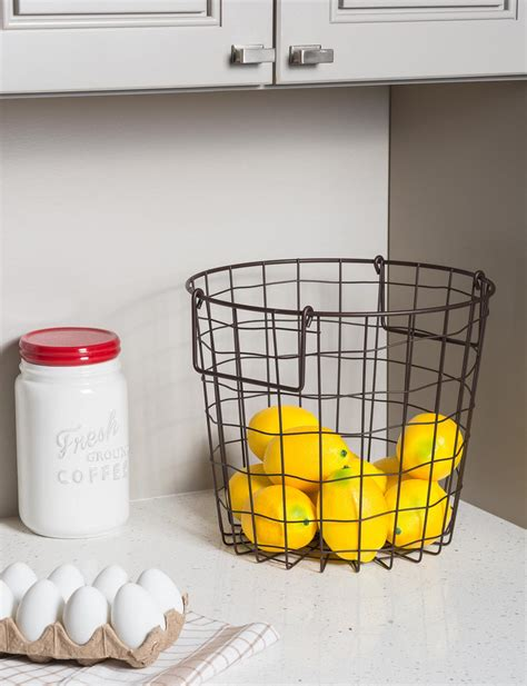 Stackable Pantry Containers by Dii Stackable Convenient Metal Storage Bin