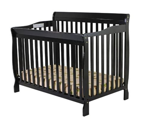 Black Convertible Baby Cribs On Me Ashton 4 In 1 Convertible Crib Black Baby Shop