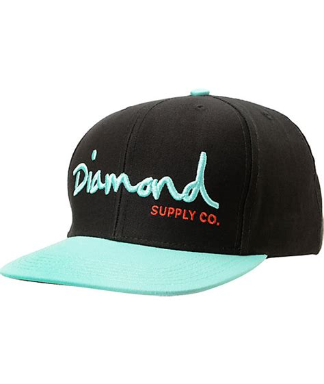 Auto Logo Hats by Diamond Supply Co Shop Snapbacks Fitted Hats At Auto