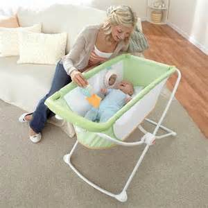 fisher price green rock n play portable bassinet