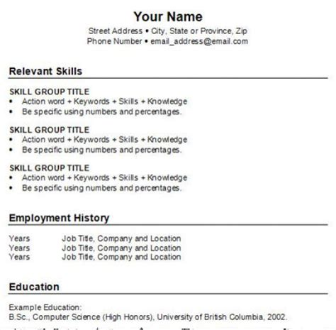 how to write a best resume format how to do a resume for a for free