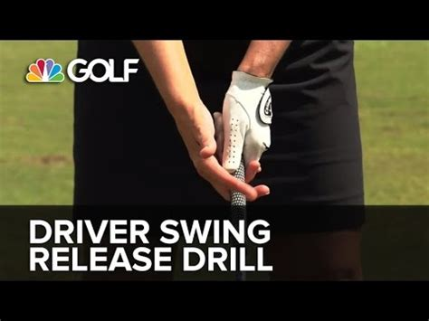 golf swing release drill driver swing release drill swingfix golf channel youtube