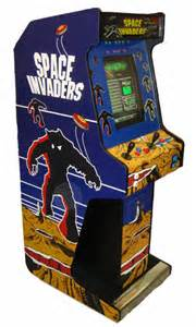 space invaders cabinet voyager upright arcade machine space invaders
