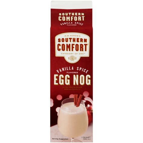 how to make southern comfort eggnog southern comfort vanilla spice flavored non alcoholic egg