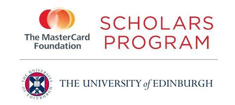 Mba Program Mastercard by Of Edinburgh Mastercard Foundation Scholarships