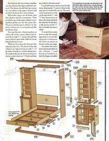 Murphy Bed With Couch Plans Murphy Bed Plans Woodarchivist