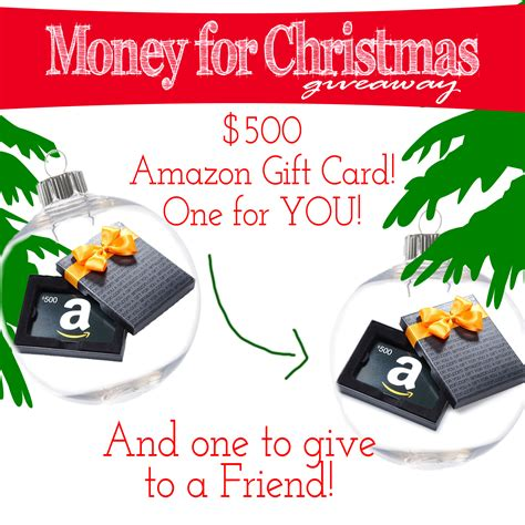 money for christmas giveaway - Christmas Money Giveaway