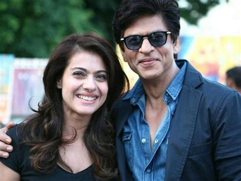 Shah Rukh Khan and Kajol's First Day on the Sets of ...
