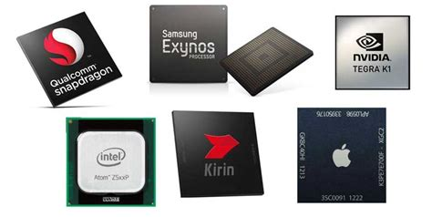 mobile phone processor list of mobile processors