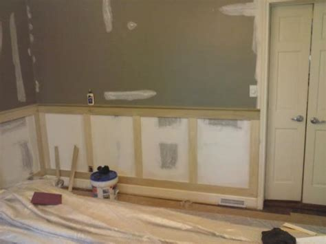 need some helpadvice with craftsmanstyle wainscoting