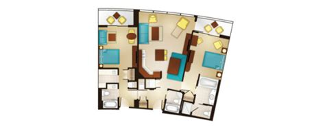 bay lake tower studio floor plan bay lake tower at disney s contemporary resort dvc
