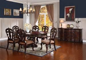 Round Formal Dining Room Sets Homelegance 2243 76 Deryn Park Round To Oval Formal Dining
