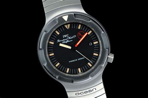 iwc porsche design watchtime wednesday porsche design titanium watches