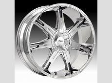 Pacer 781C 781 Fuzion Chrome Custom Rims Wheels - 781C ... Pacer