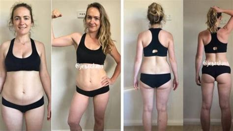 weight loss 6 weeks after birth sydney s amazing transformation eight weeks after