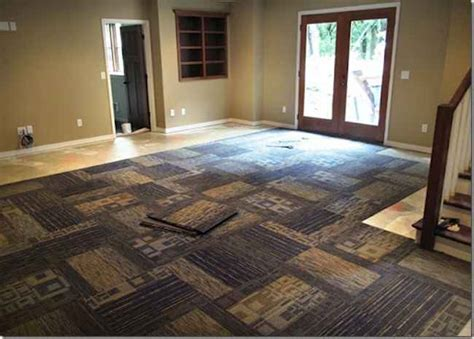 basement carpet tiles carpet tiles for basement floors