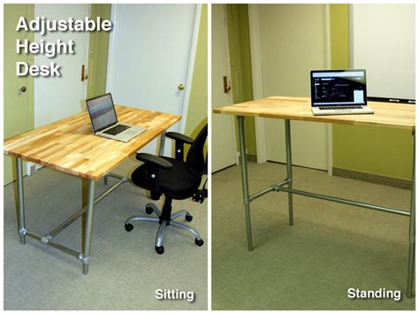 adjustable desks for standing or sitting adjustable height sitting and standing desk