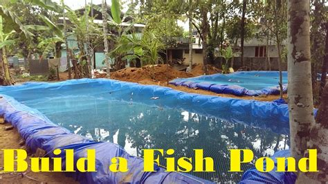 backyard fish farming how to build a fish pond fish farming in backyard youtube