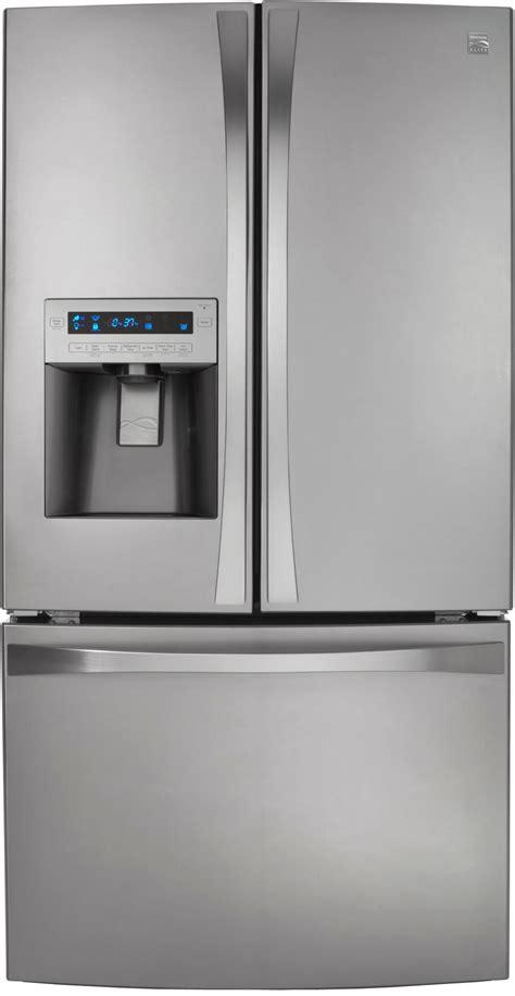 kenmore door counter depth refrigerator kenmore elite 72043 25 cu ft door counter depth