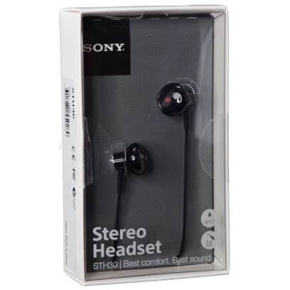 Sony Stereo Headset Sth30 Original biareview sony sth30