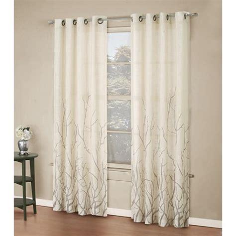 alton drapes alton print grommet window curtain panel home