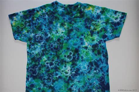 tie dye designs mickey pattern