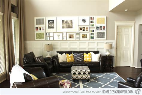 how to decorate living room wall 15 living room wall decor for added interior beauty home