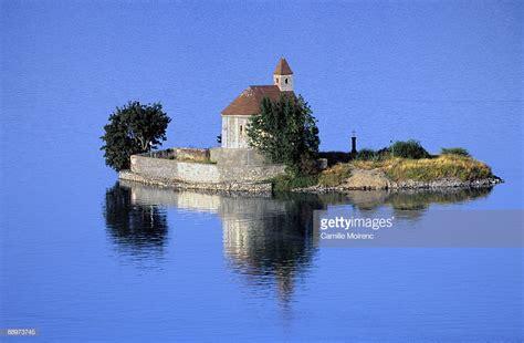 serre french france hautes alpes serre poncon lake and saint michel