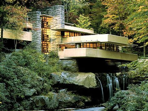 falling waters house original frank lloyd wright home