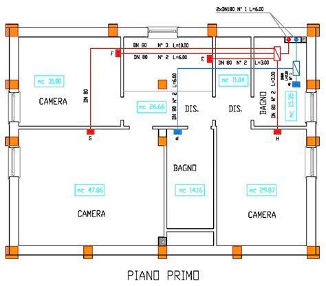 impianto elettrico casa schema schema elettrico casa