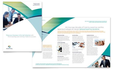 in design brochure template use indesign templates to quickly create design projects