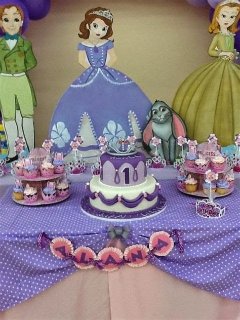 decoracion del bizcocho de sofia de first fiesta tem 225 tica de la princesa sof 237 a fiestas infantiles