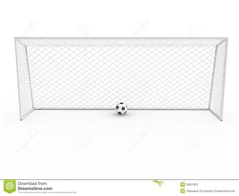 Soccer Goal White white football goal 1 stock photos image 36621803