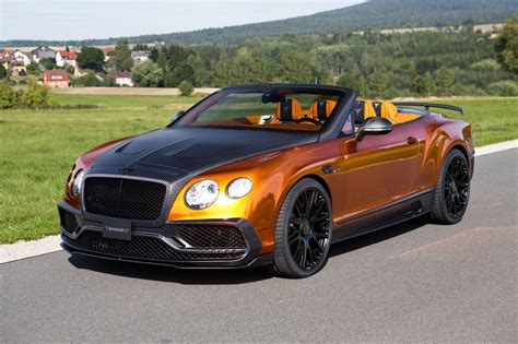 bentley tuning mansory bentley continental gt speed convertible