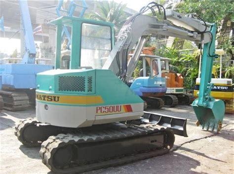 Komatsu Used Excavators Pc 50uu 2 komatsu pc50uu 1 midi excavators 7t 12t year of