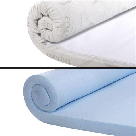 cool memory foam mattress king cool gel memory foam mattress toppers 4 sizes buy king