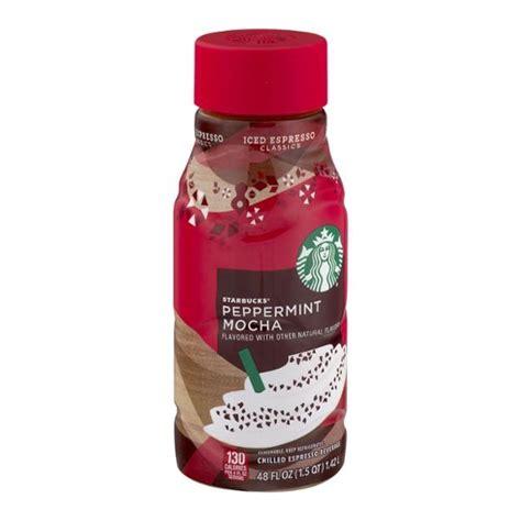 starbucks peppermint mocha nutrition