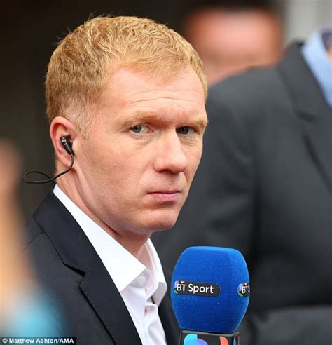 paul scholes too humble to do media work he just couldn