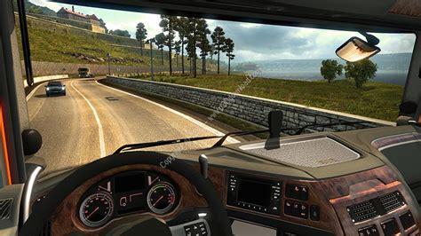 download game euro truck driver mod دانلود euro truck simulator 2 بازی شبیه ساز رانندگی با