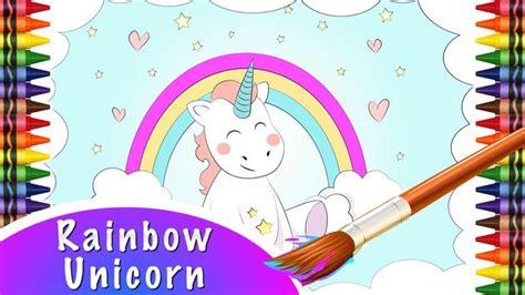 gambar unicorn pelangi koleksi gambar hd