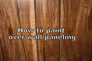 Painting Over Fake Wood Paneling by How To Paint Laminate Paneling How To