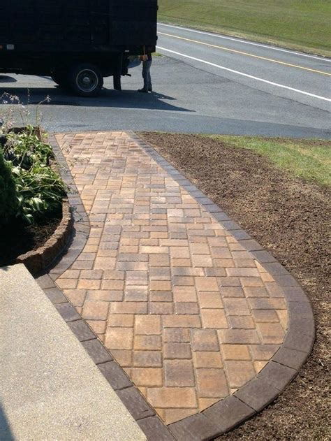 Paver Walkway Design Ideas Homestartx Com Garden Paving Stones Ideas